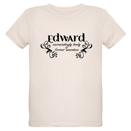 Twilight Edward Lovely Organic Kids T-Shirt