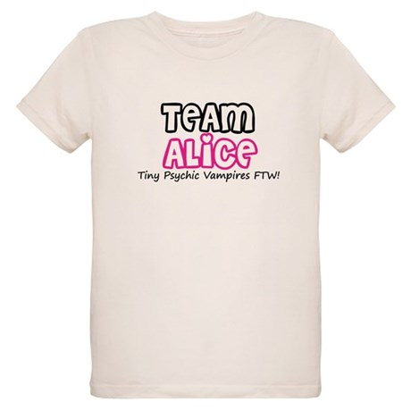 Team Alice Twilight Organic Kids T-Shirt