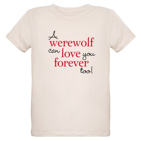 Werewolf Love Twilight Organic Kids T-Shirt