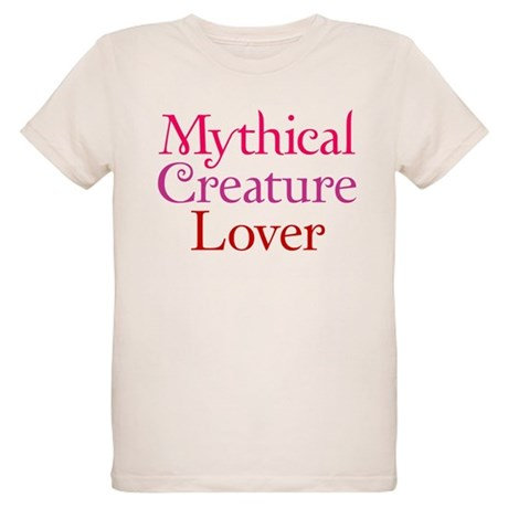 Mythical Creature Lover Organic Kids T-Shirt