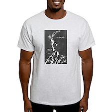Iris Murdoch Equality Ash Grey T-Shirt