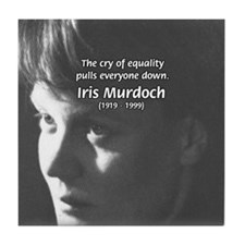 Iris Murdoch Equality Tile Coaster