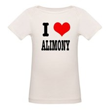 I Heart (Love) Alimony Tee