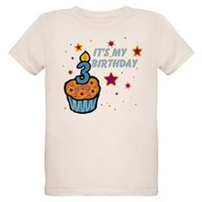 Birthday Cupcakes and Stars T-Shirt