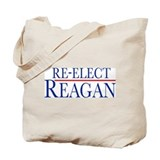 Re-Elect Reagan Tote Bag