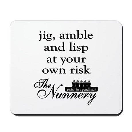 Jig, Amble Mousepad