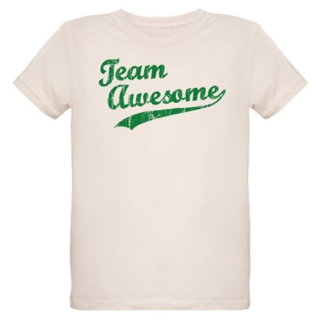 Team Awesome Organic Kids T-Shirt