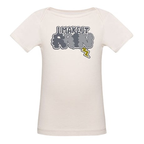 I Make It Rain Organic Baby T-Shirt