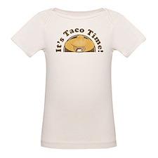 It's Taco Time! Organic Baby T-Shirt