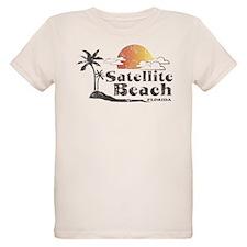 Satellite Beach Organic Kids T-Shirt