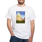 White Zion National Park T-Shirt