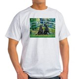 Flat Coated Retriever (two) T-Shirt