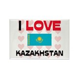 I Love Kazakhstan Rectangle Magnet