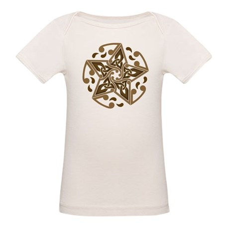 Celtic Star Organic Baby T-Shirt