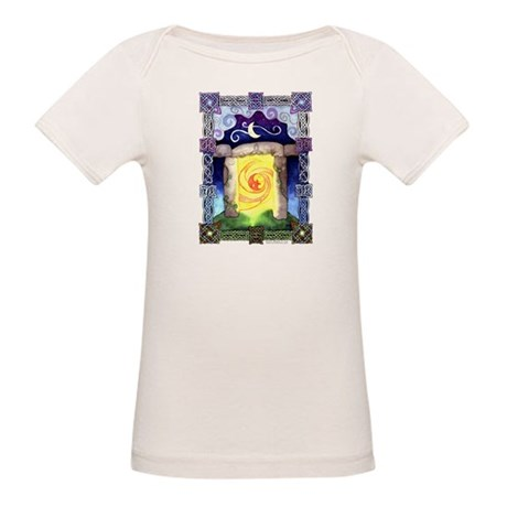Celtic Doorway Organic Baby T-Shirt