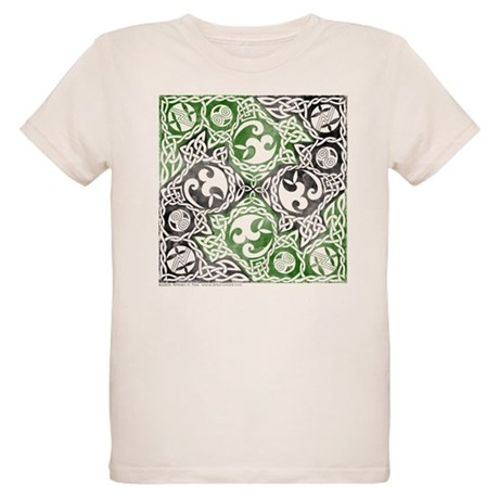 Celtic Puzzle Square Organic Kids T-Shirt