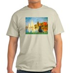 Sailboats / Flat Coated Retri Light T-Shirt