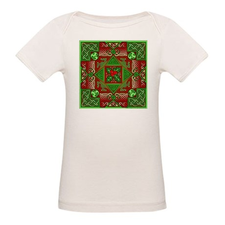 Celtic Labyrinth Holly Organic Baby T-Shirt