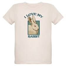 I Love my Rabbit - White T-Shirt