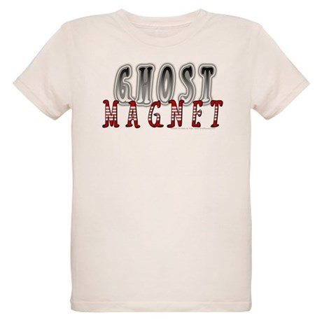 Ghost Magnet Organic Kids T-Shirt