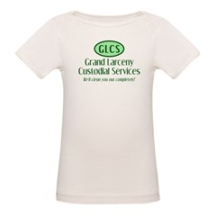 Grand Larceny Custodial Organic Baby T-Shirt