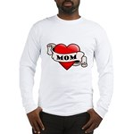 Mom Tattoo Heart Long Sleeve T-Shirt