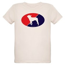 US Flag Boston Terrier T-Shirt