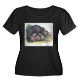 Audubon Grizzly Bear Animal (Front) T