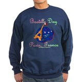 Bastille Day! Sweatshirt