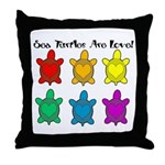 Sea Turtles are Love Throw Pillow
