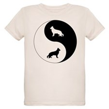 Yin Yang German Shepherd T-Shirt