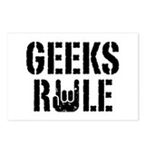 Geeks Rule Postcards (Package of 8)