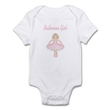 Ballerina Girl Infant Bodysuit