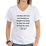 Nietzsche 38 Women's V-Neck T-Shirt