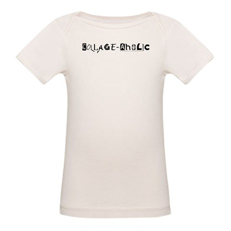 Collage-Aholic Organic Baby T-Shirt