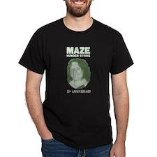 Maze Hunger Strike 25th Anniv Black T-Shirt