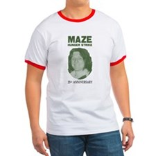 Maze Hunger Strike 25th Anniv T