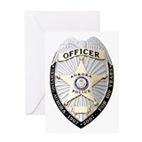 Aurora Police Greeting Card