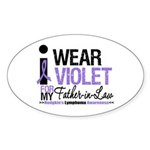 Hodgkins Father-in-Law Oval Sticker (10 pk)