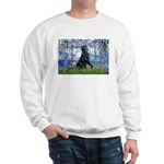 Lilies / Flat Coated Retrieve Sweatshirt