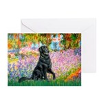 Flat Coated Retriever 2 Greeting Cards (Pk of 20)