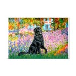 Flat Coated Retriever 2 Mini Poster Print