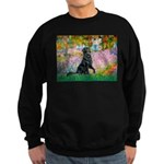 Flat Coated Retriever 2 Sweatshirt (dark)