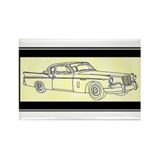 """1956 Packard Hawk?"" Rectangle Magnet (10 pack)"