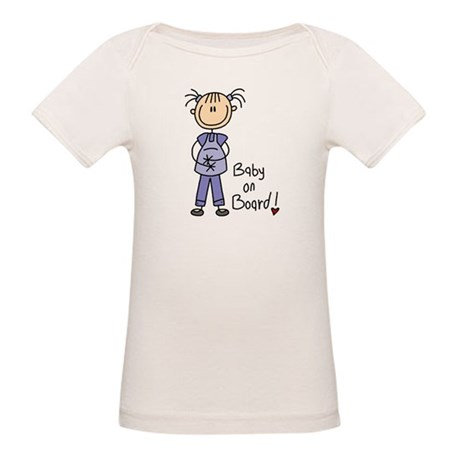 Baby on Board Organic Baby T-Shirt