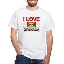 I Love Grenada Shirt