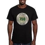 Lifelist Club - 750 Men's Fitted T-Shirt (dark)