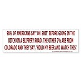 Colorado oh shit Bumpersticker
