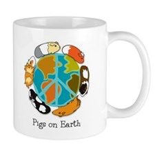 Pigs on Earth Small Mug