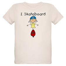 Girl I Skateboard T-Shirt
